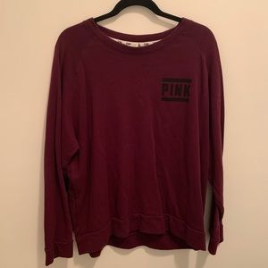 Vs pink crew sweatshirt / long sleeve